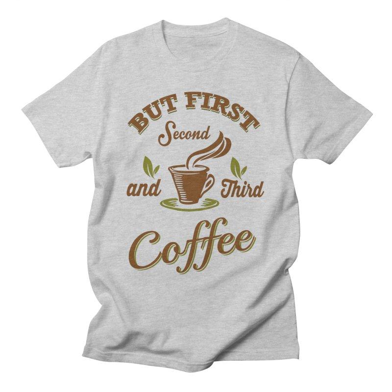 But always coffee Women's T-Shirt by Mini Moo Moo Clothing Company