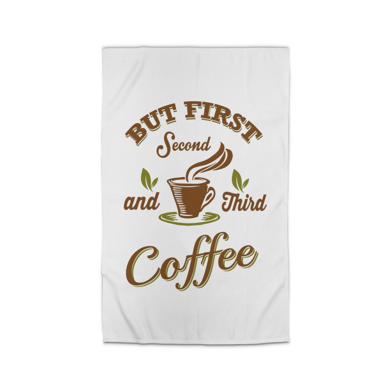 But always coffee Home Rug by Mini Moo Moo Clothing Company