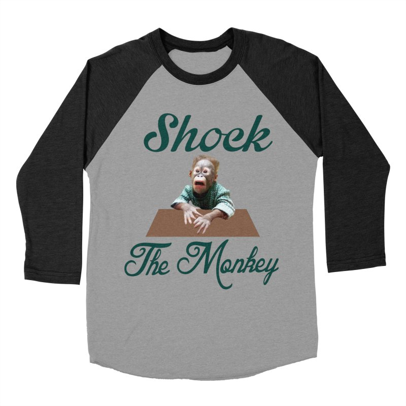 Shocking the  Monkey Men's Longsleeve T-Shirt by Mini Moo Moo Clothing Company