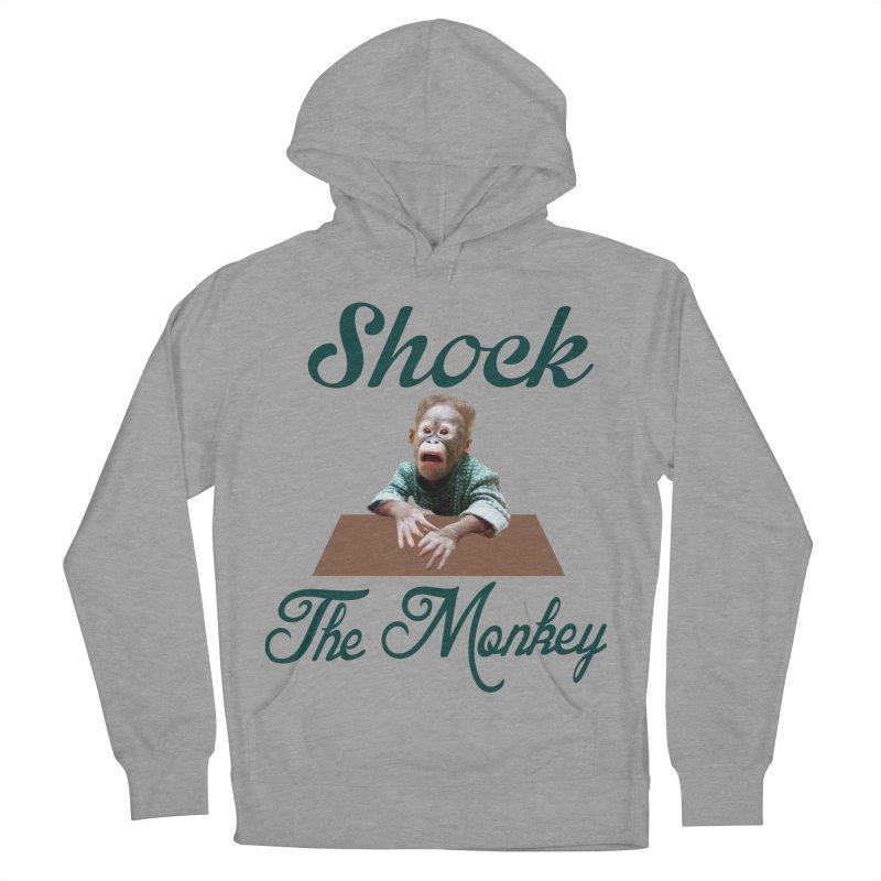 Shocking the  Monkey Women's Pullover Hoody by Mini Moo Moo Clothing Company
