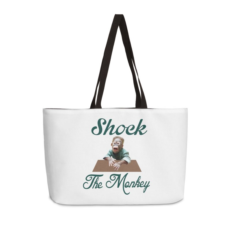 Shocking the  Monkey Accessories Weekender Bag Bag by Mini Moo Moo Clothing Company