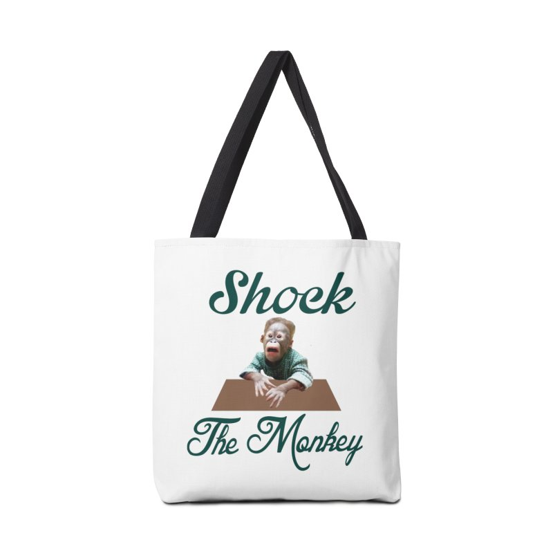Shocking the  Monkey Accessories Tote Bag Bag by Mini Moo Moo Clothing Company