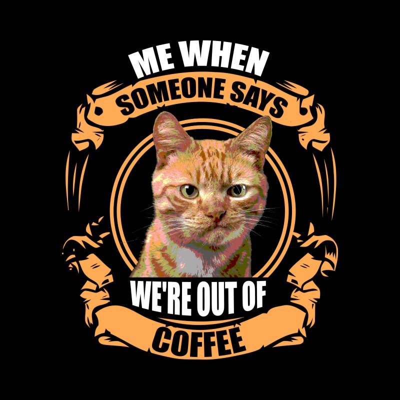 What no coffee Kids T-Shirt by Mini Moo Moo Clothing Company
