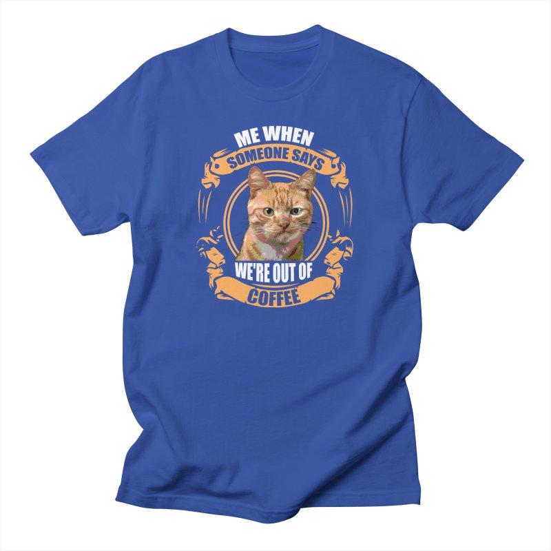 What no coffee Men's T-Shirt by Mini Moo Moo Clothing Company