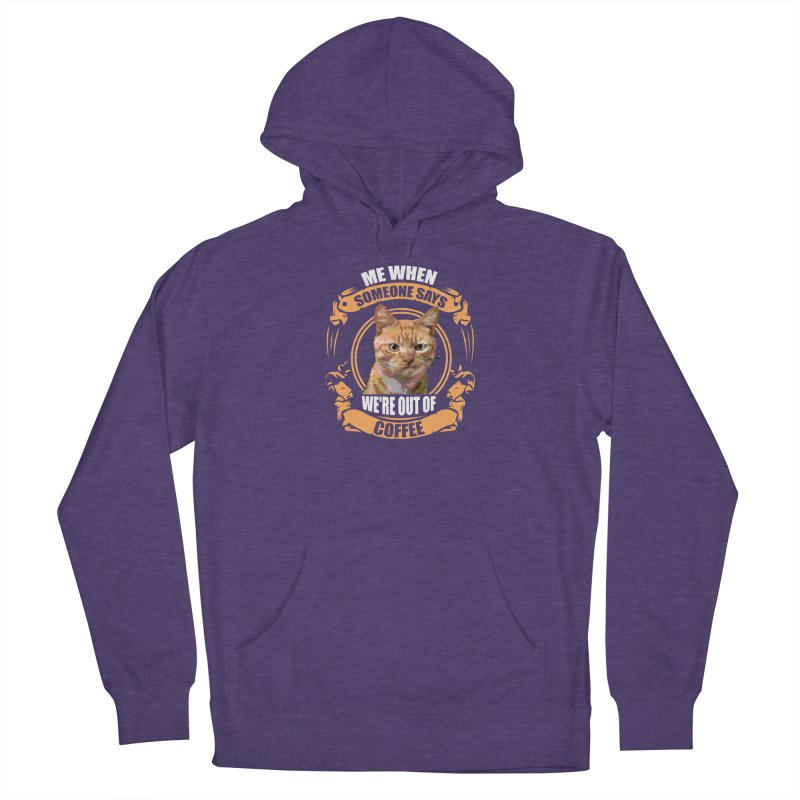What no coffee Women's Pullover Hoody by Mini Moo Moo Clothing Company