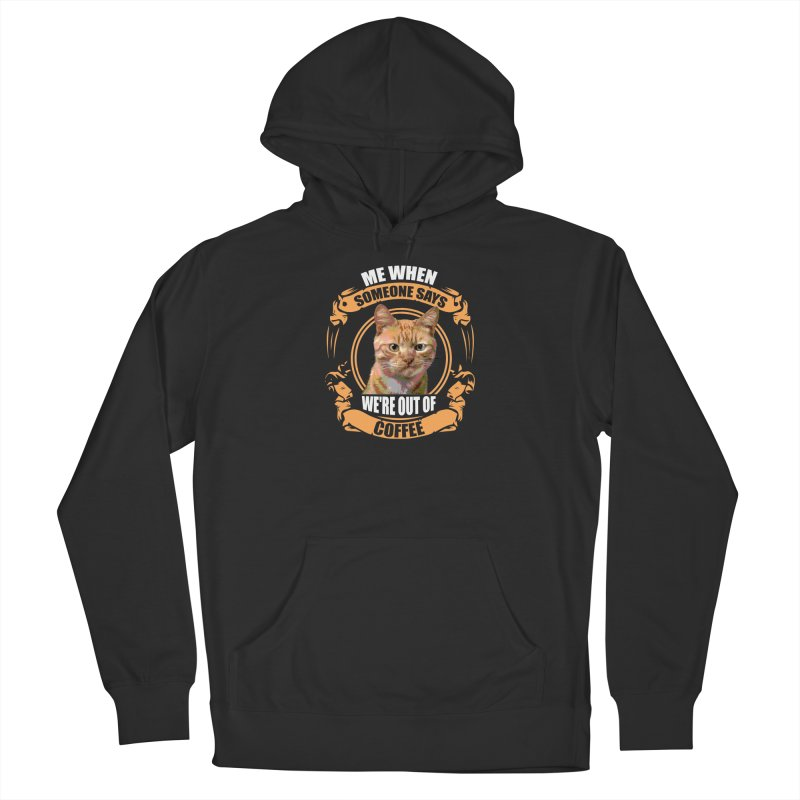 What no coffee Men's Pullover Hoody by Mini Moo Moo Clothing Company