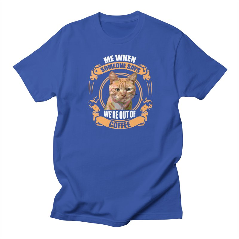 What no coffee Men's Regular T-Shirt by Mini Moo Moo Clothing Company