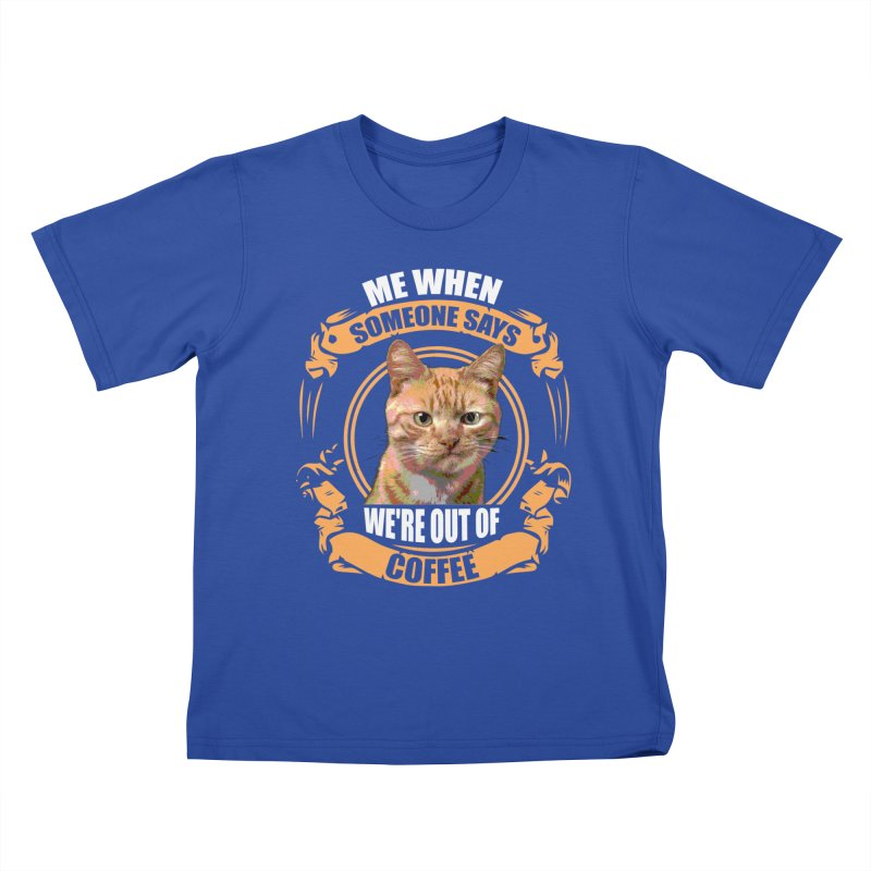 What no coffee Kids T-Shirt by Mini Moo Moo Clothing Company
