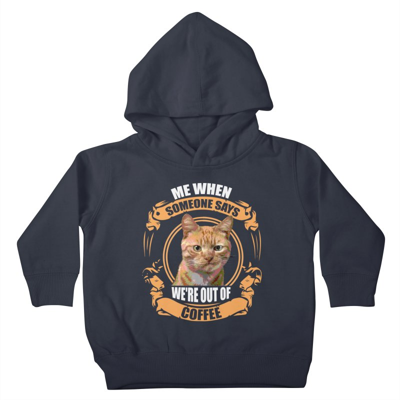 What no coffee Kids Toddler Pullover Hoody by Mini Moo Moo Clothing Company