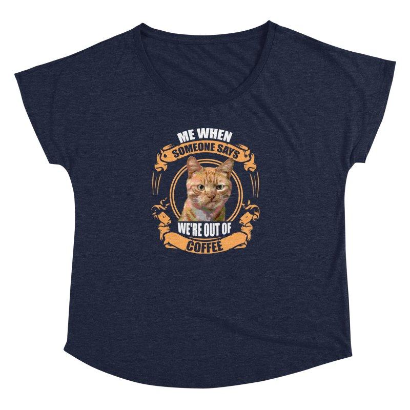 What no coffee Women's Dolman by Mini Moo Moo Clothing Company
