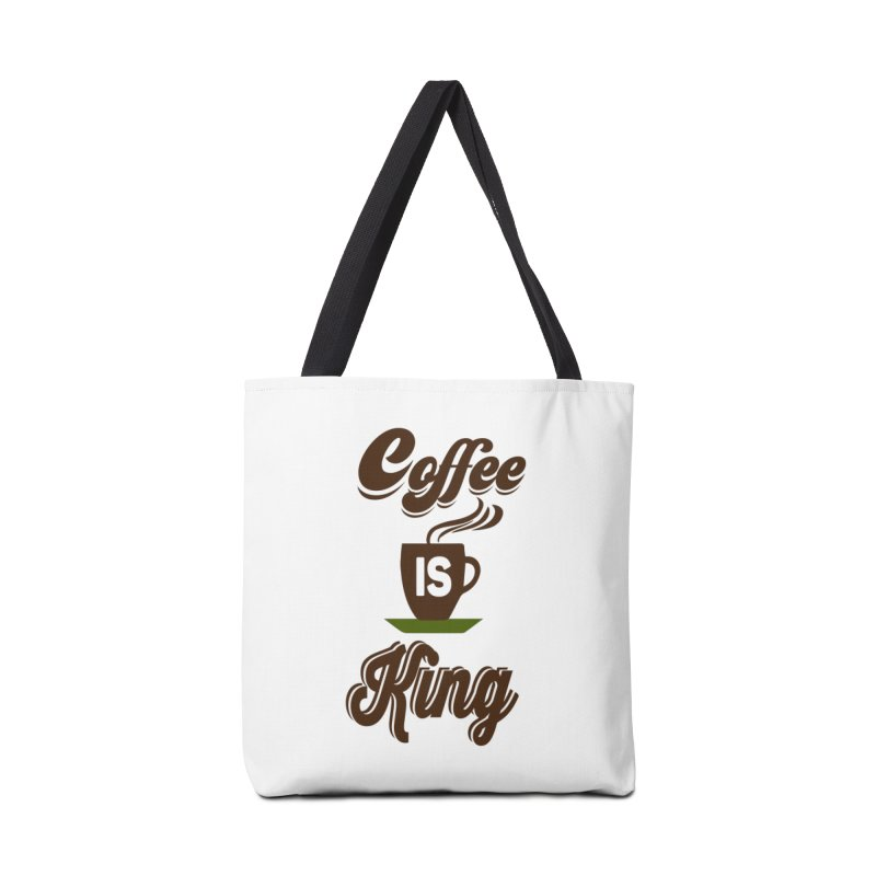 Coffee is King Accessories Tote Bag Bag by Mini Moo Moo Clothing Company