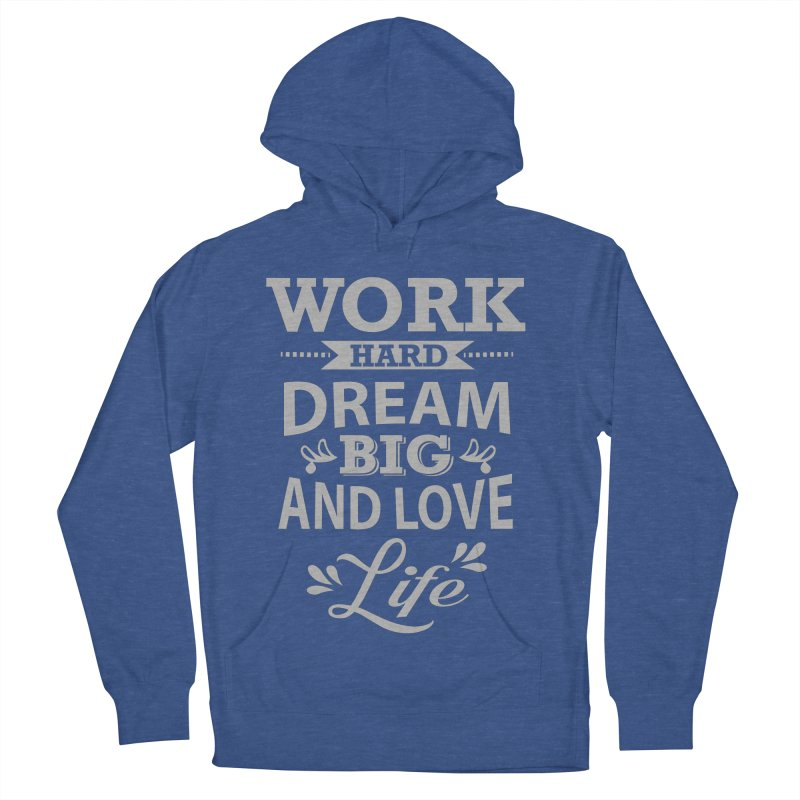 Work Dream Love Women's Pullover Hoody by Mini Moo Moo Clothing Company