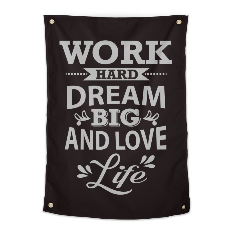 Work Dream Love   by Mini Moo Moo Clothing Company