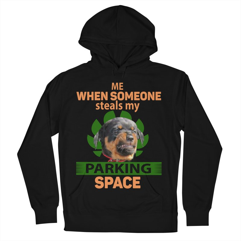 Rotti Road Rage Men's French Terry Pullover Hoody by Mini Moo Moo Clothing Company