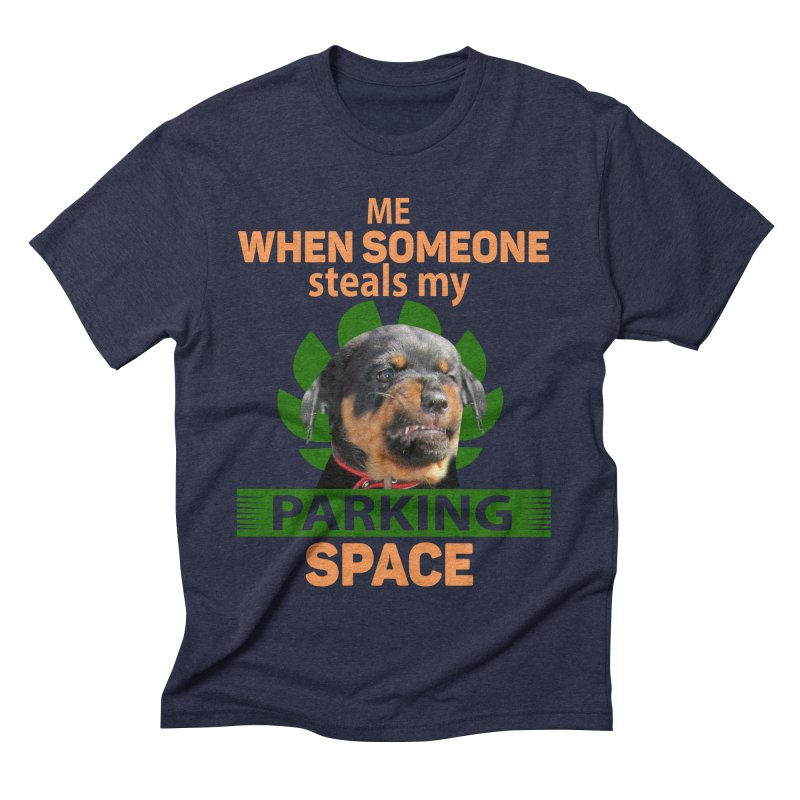 Rotti Road Rage Men's Triblend T-Shirt by Mini Moo Moo Clothing Company