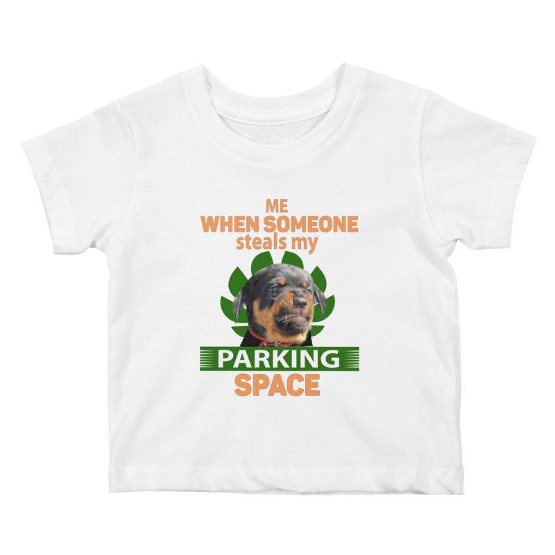 Rotti Road Rage Kids Baby T-Shirt by Mini Moo Moo Clothing Company