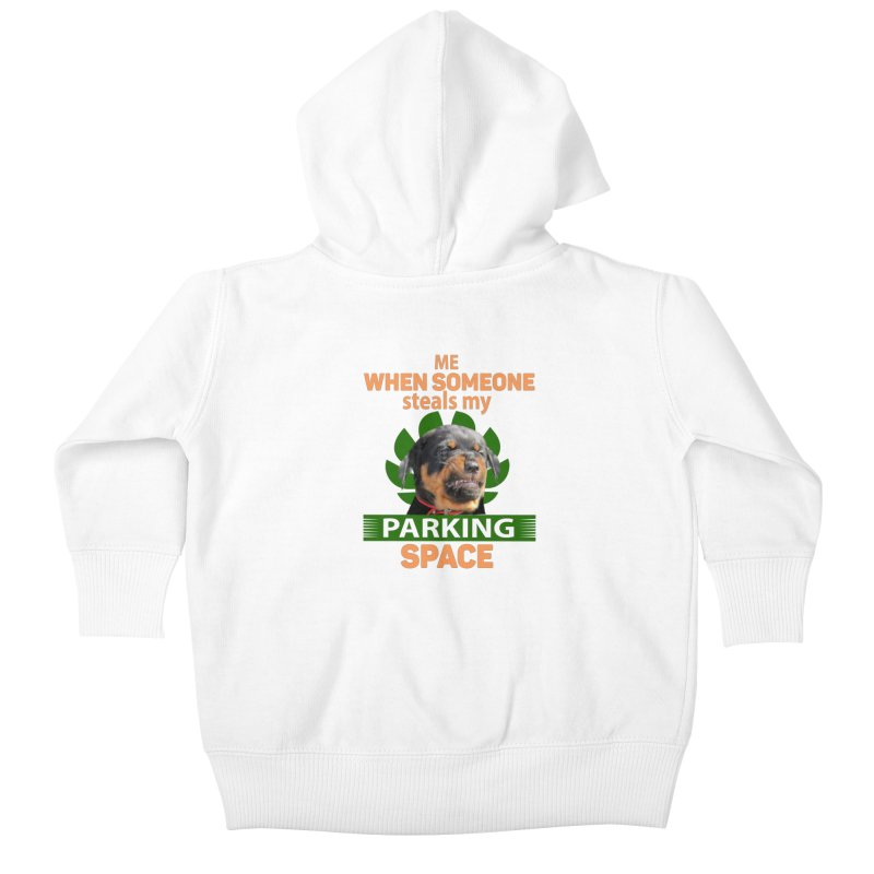 Rotti Road Rage Kids Baby Zip-Up Hoody by Mini Moo Moo Clothing Company