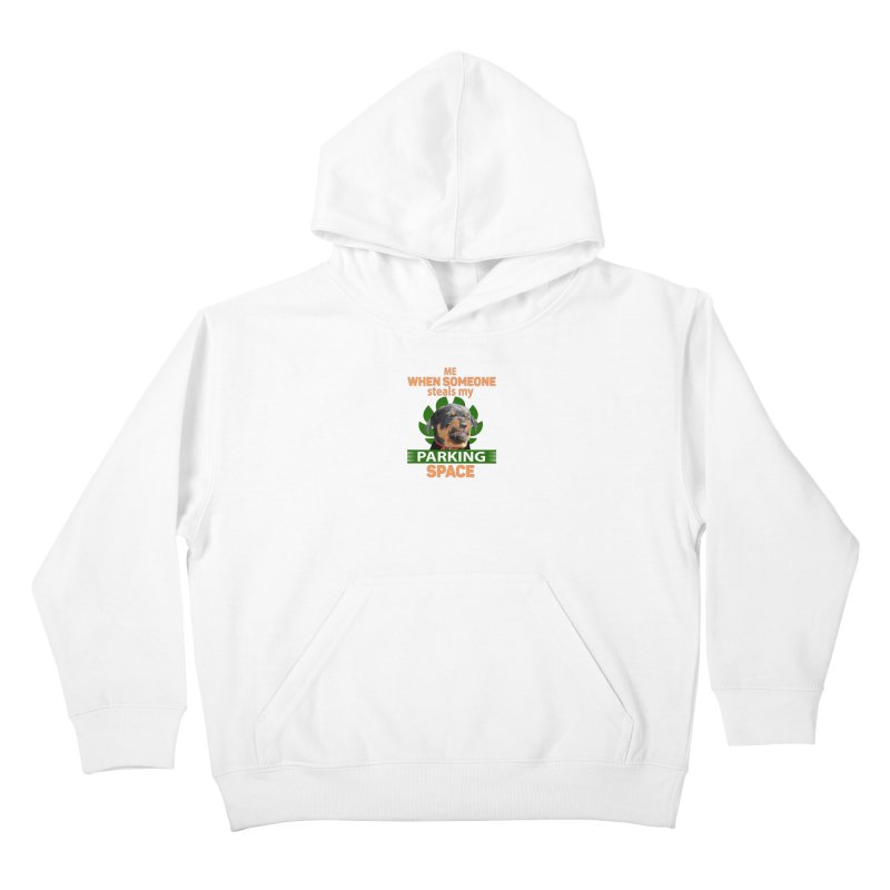 Rotti Road Rage Kids Pullover Hoody by Mini Moo Moo Clothing Company