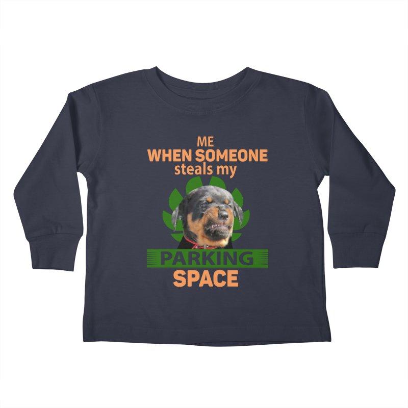 Rotti Road Rage Kids Toddler Longsleeve T-Shirt by Mini Moo Moo Clothing Company