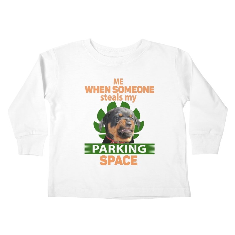 Rotti Road Rage Kids Toddler Longsleeve T-Shirt by Mini Moo Moo Clothing Company