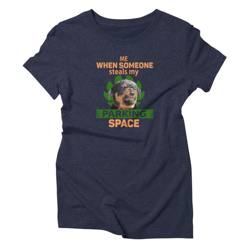 Rotti Road Rage Women's T-Shirt by Mini Moo Moo Clothing Company