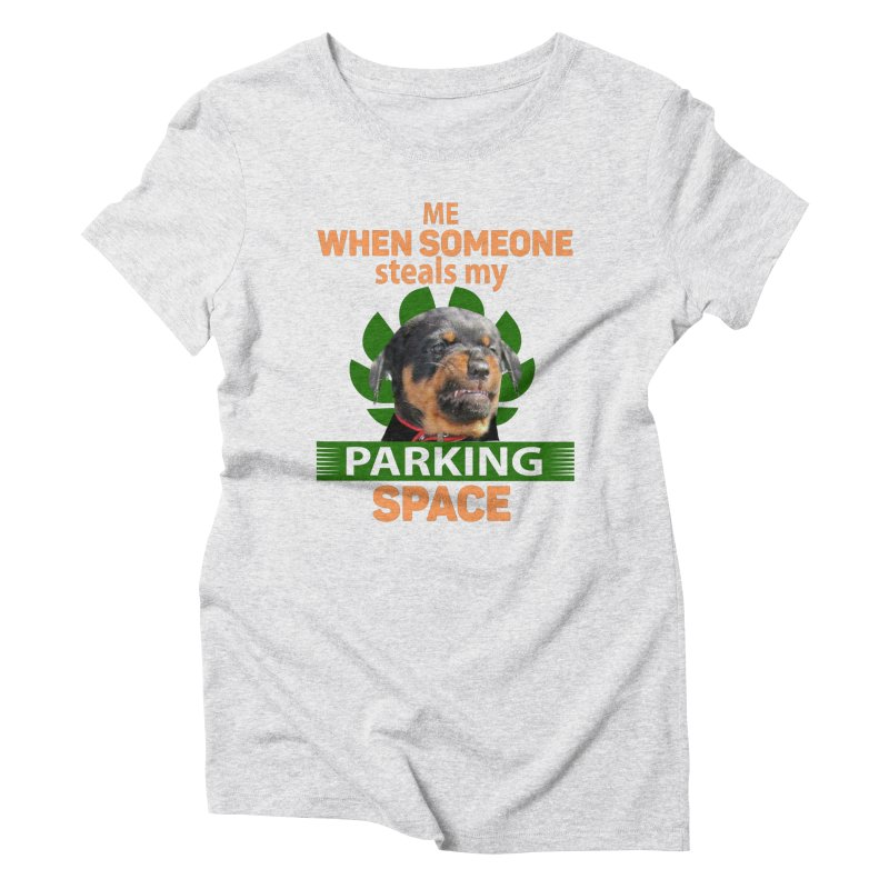 Rotti Road Rage Women's T-Shirt by Mini Moo Moo Clothing Company
