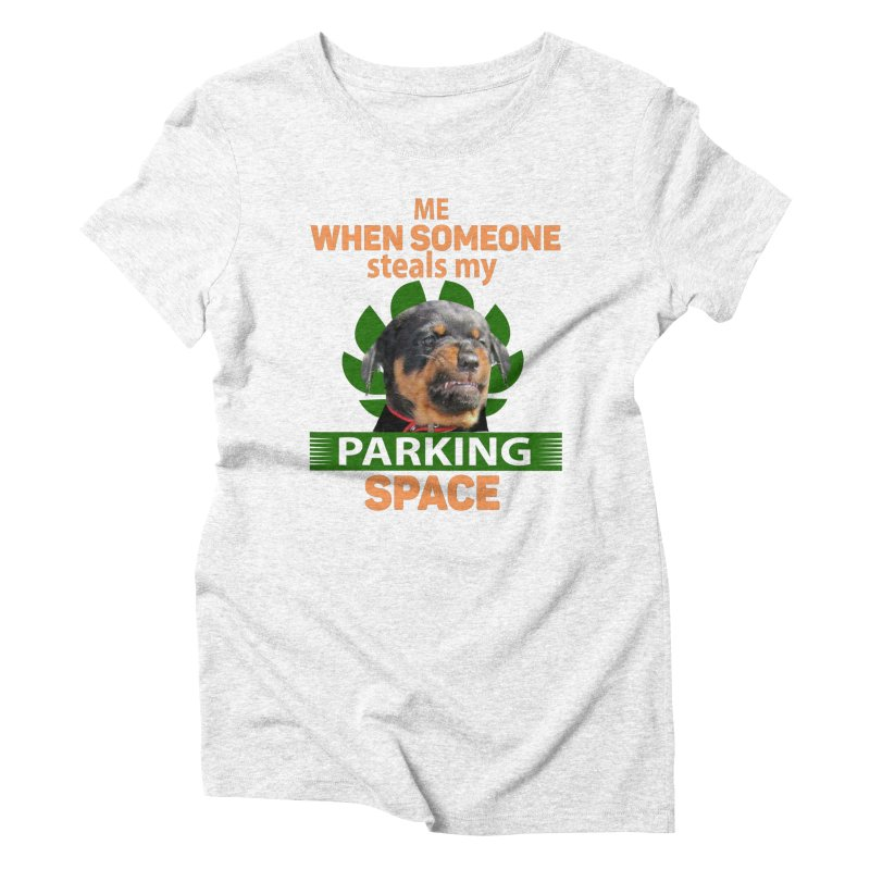 Rotti Road Rage Women's Triblend T-shirt by Mini Moo Moo Clothing Company