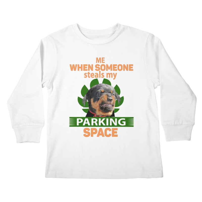 Rotti Road Rage Kids Longsleeve T-Shirt by Mini Moo Moo Clothing Company