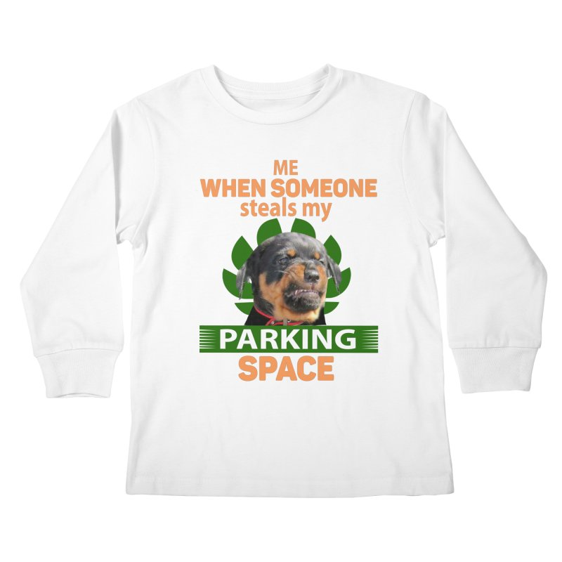 Rotti Road Rage Kids Longsleeve T-Shirt by Mini Moo Moo Clothing Company