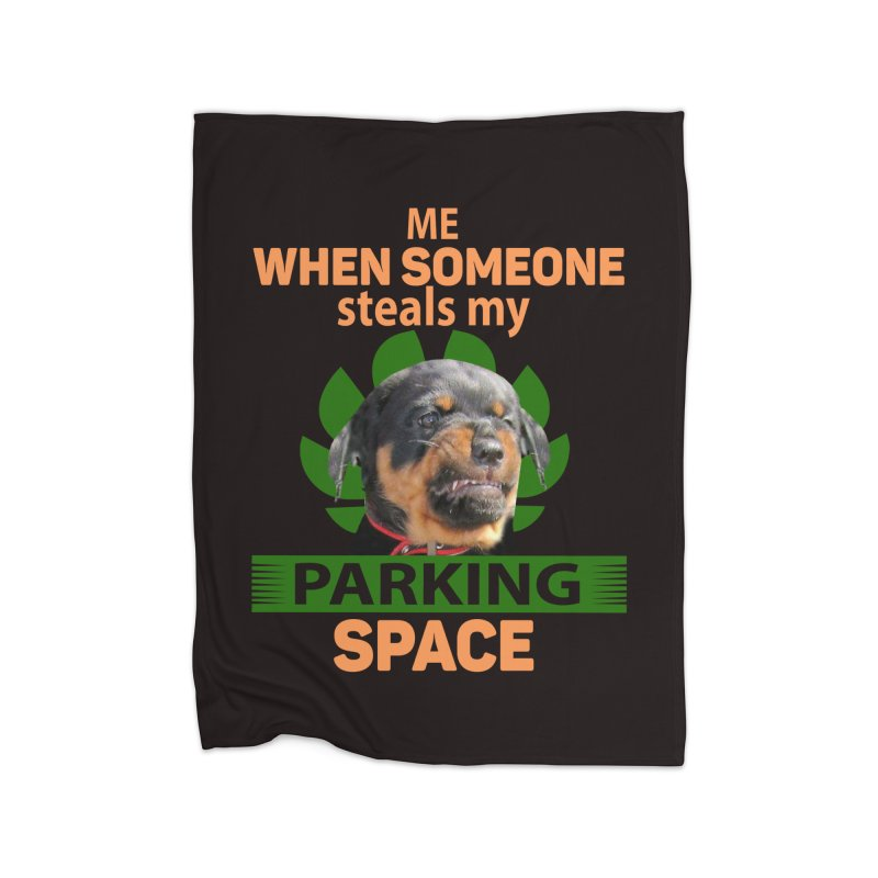Rotti Road Rage Home Blanket by Mini Moo Moo Clothing Company