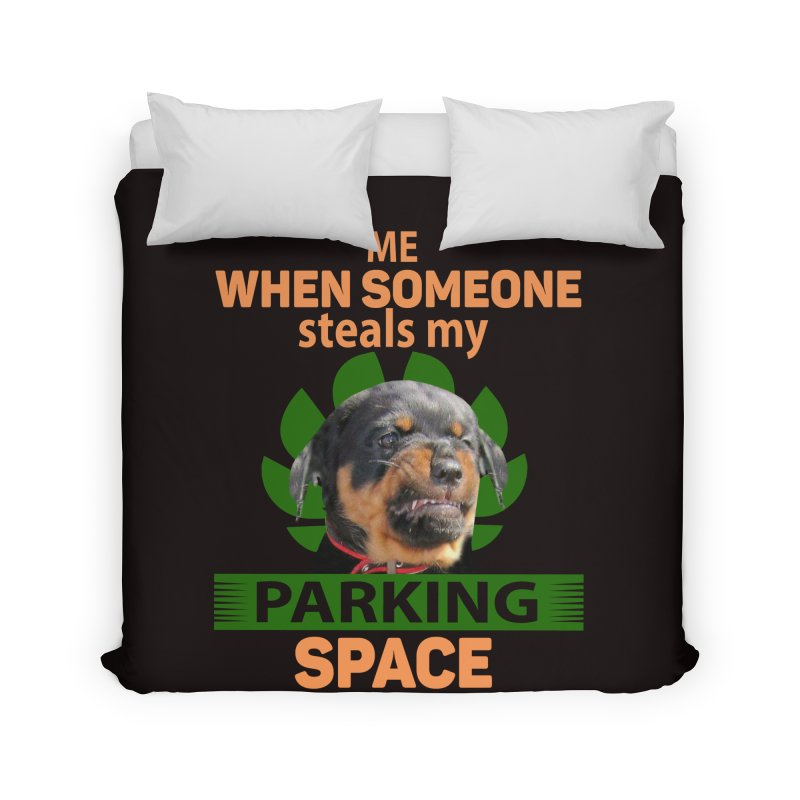 Rotti Road Rage Home Duvet by Mini Moo Moo Clothing Company
