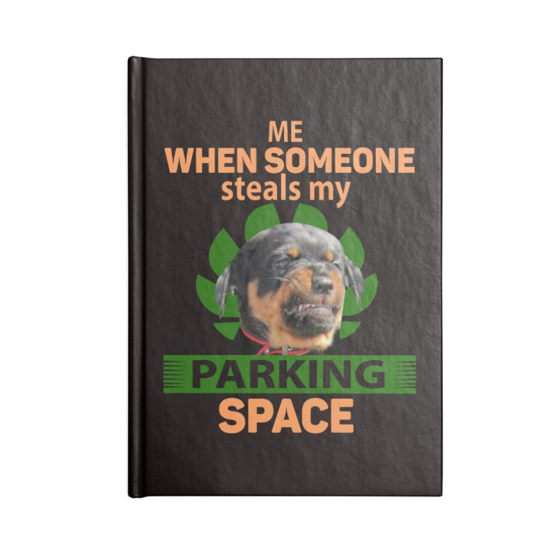 Rotti Road Rage Accessories Notebook by Mini Moo Moo Clothing Company