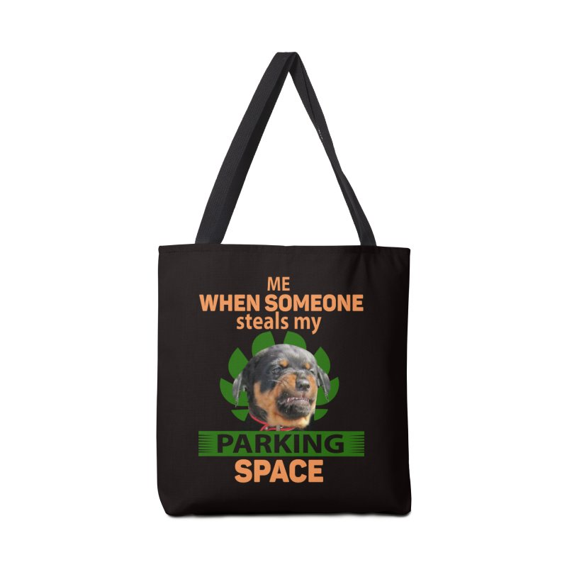 Rotti Road Rage Accessories Tote Bag Bag by Mini Moo Moo Clothing Company