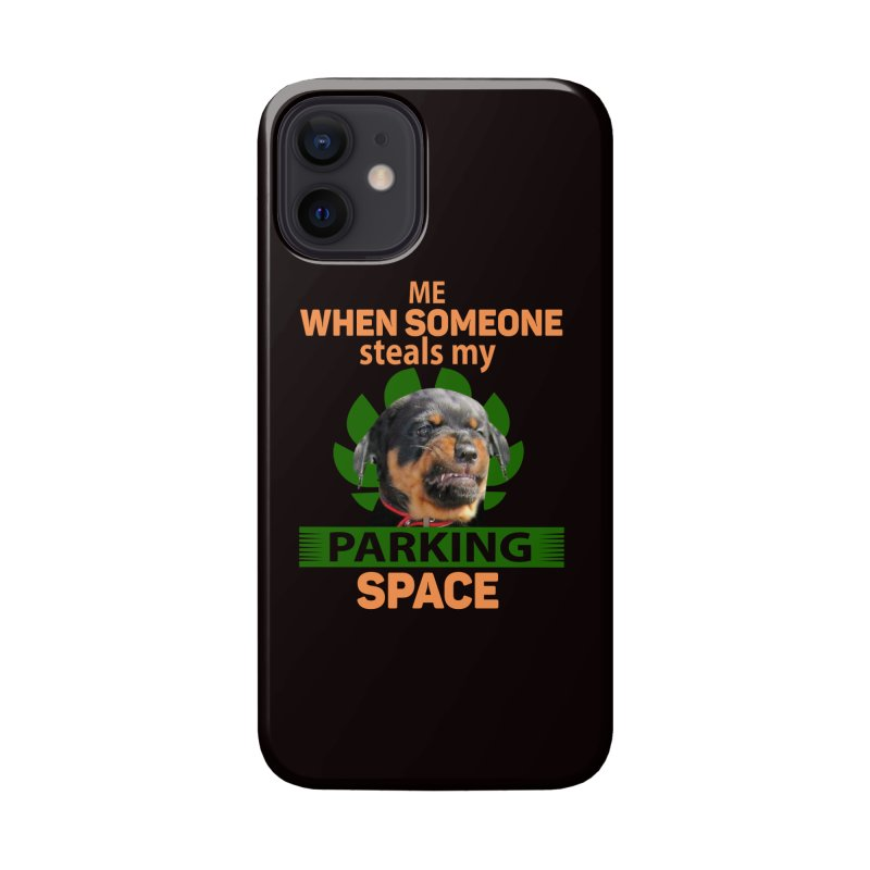 Rotti Road Rage Accessories Phone Case by Mini Moo Moo Clothing Company