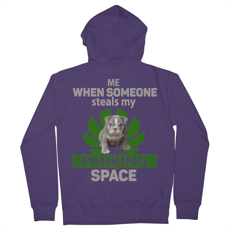 Pittbull Road Rage Women's Zip-Up Hoody by Mini Moo Moo Clothing Company
