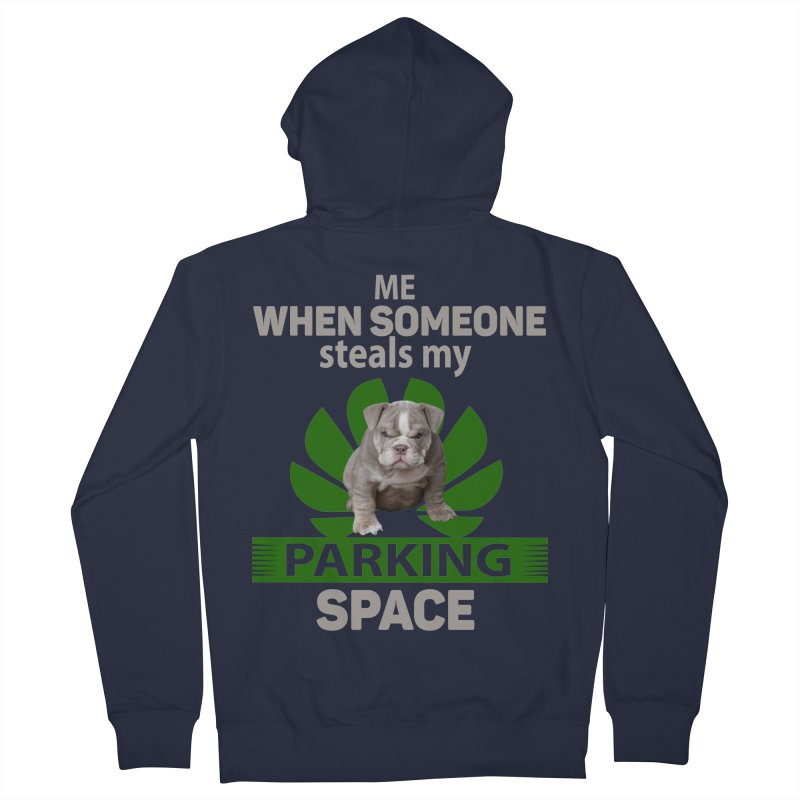 Pittbull Road Rage Men's French Terry Zip-Up Hoody by Mini Moo Moo Clothing Company