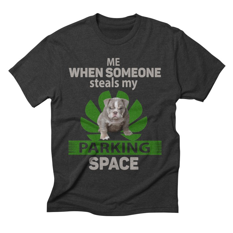 Pittbull Road Rage Men's Triblend T-Shirt by Mini Moo Moo Clothing Company