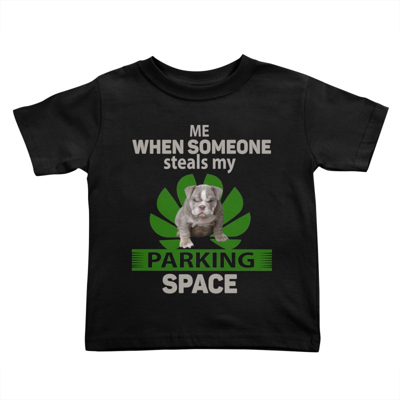 Pittbull Road Rage Kids Toddler T-Shirt by Mini Moo Moo Clothing Company