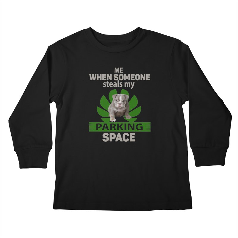 Pittbull Road Rage Kids Longsleeve T-Shirt by Mini Moo Moo Clothing Company
