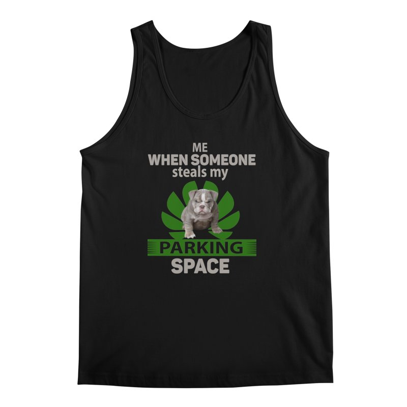 Pittbull Road Rage Men's Regular Tank by Mini Moo Moo Clothing Company