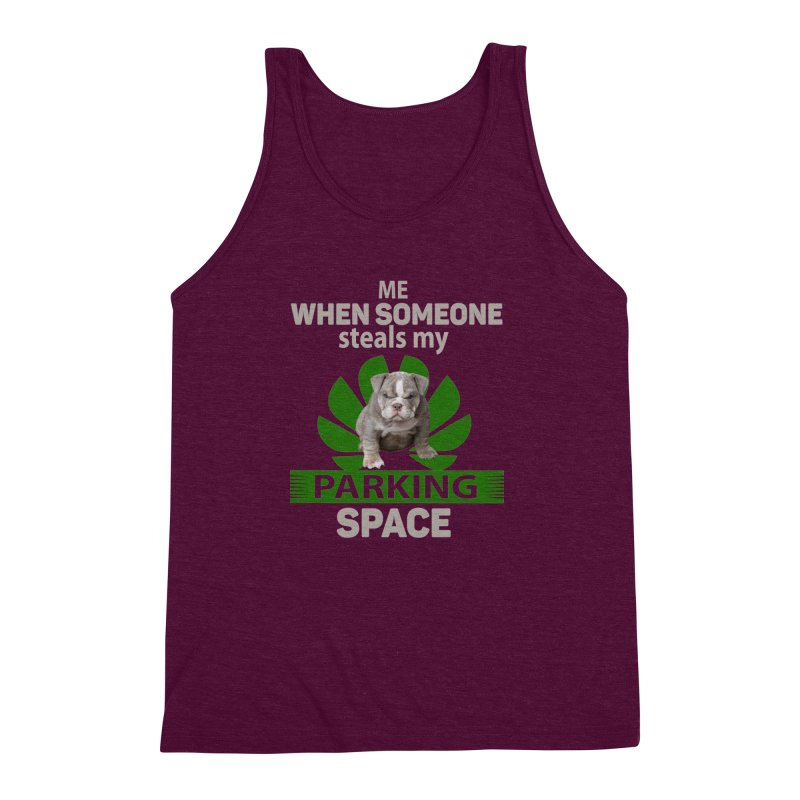 Pittbull Road Rage Men's Triblend Tank by Mini Moo Moo Clothing Company