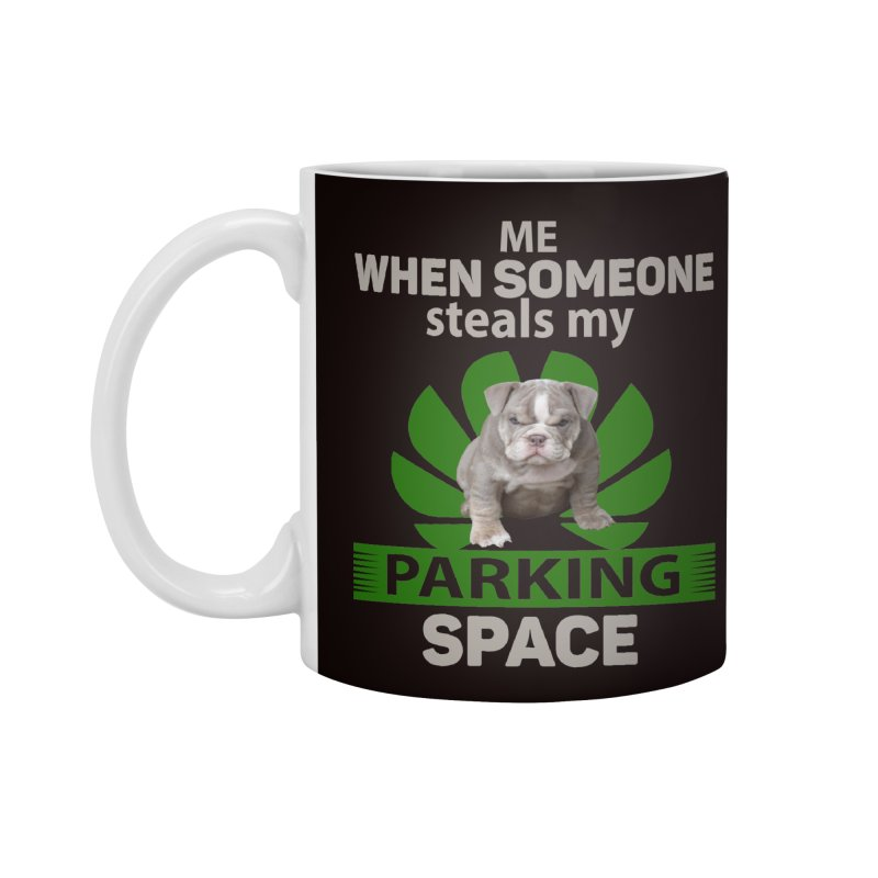 Pittbull Road Rage Accessories Mug by Mini Moo Moo Clothing Company