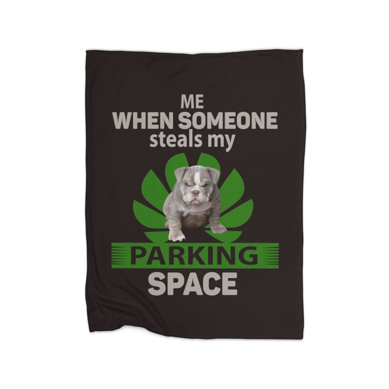 Pittbull Road Rage Home Blanket by Mini Moo Moo Clothing Company