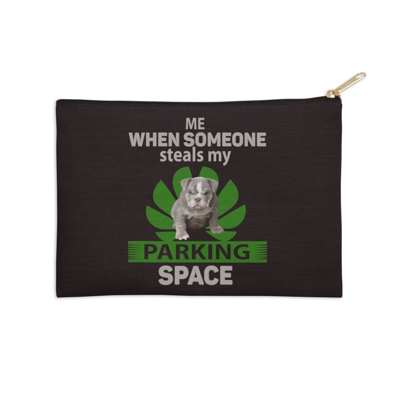 Pittbull Road Rage Accessories Zip Pouch by Mini Moo Moo Clothing Company