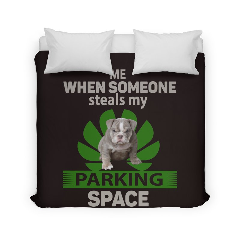 Pittbull Road Rage Home Duvet by Mini Moo Moo Clothing Company