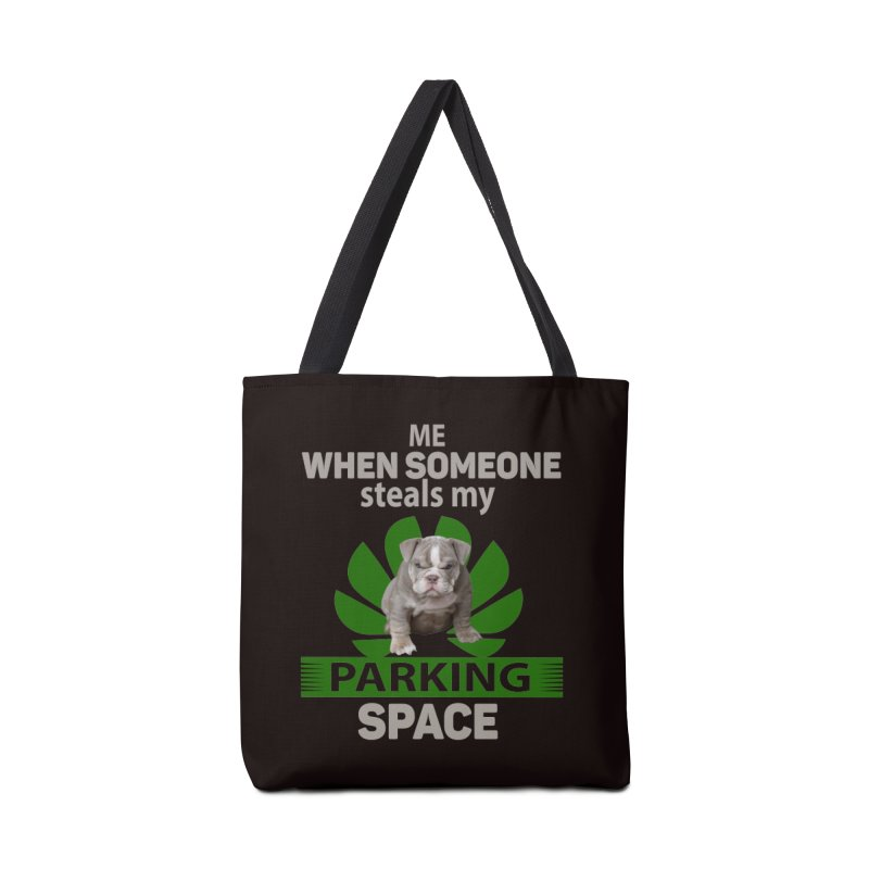 Pittbull Road Rage Accessories Tote Bag Bag by Mini Moo Moo Clothing Company