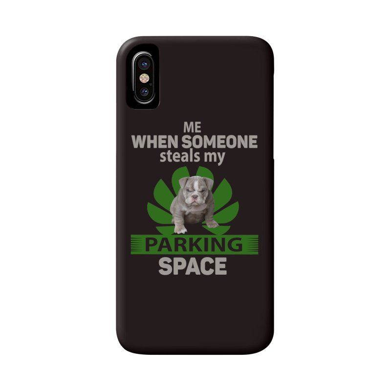 Pittbull Road Rage Accessories Phone Case by Mini Moo Moo Clothing Company