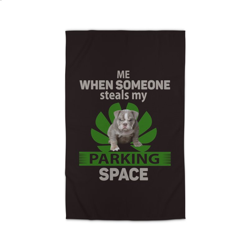 Pittbull Road Rage Home Rug by Mini Moo Moo Clothing Company