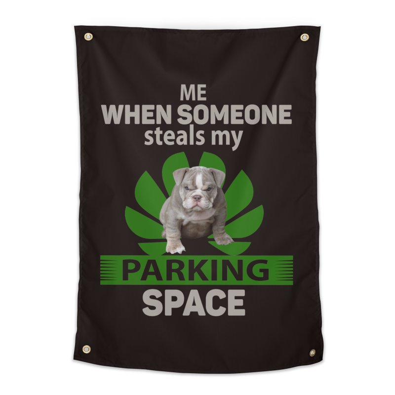 Pittbull Road Rage Home Tapestry by Mini Moo Moo Clothing Company