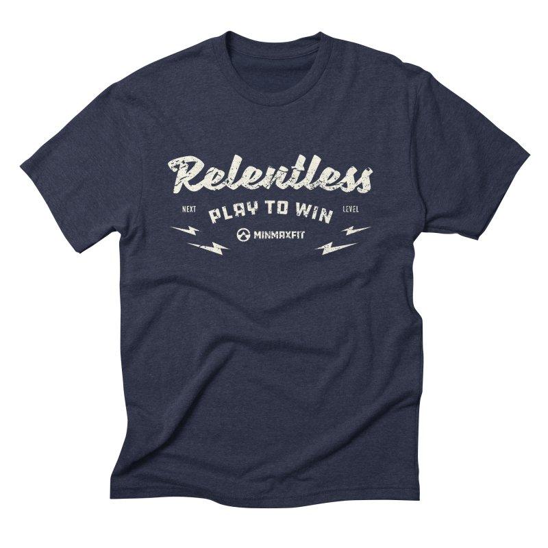 Relentless Men's T-Shirt by MINMAXFIT
